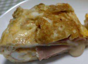 ハムチーズ入り卵焼き